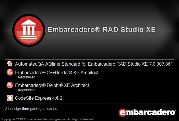 Embarcadero RAD Studio XE.