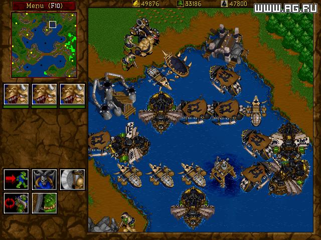 Warcraft 2 Battle.net Edition (1999) РС 700 Mb.