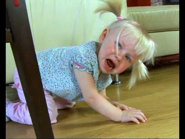 Детская истерика: Как бороться?